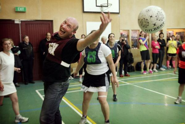 Parliamentary vs Waikato Invitational Netball match