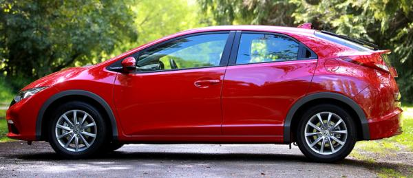 The new Honda Civic Euro S.