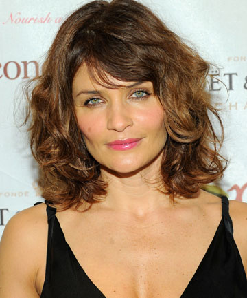 YUMMY MUMMY: Helena Christensen has been slammed for looking too sexy in the Boden adverts.