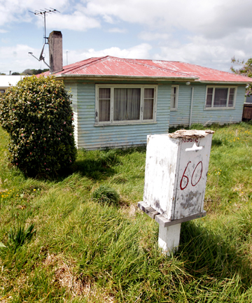 This Waitara house may be considered for possible sale today to pay rates arrears of $6977.96