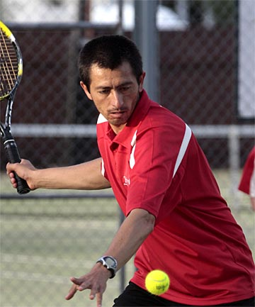 MOVING ON: Manawatu tennis coach and player Victor Romero will be concentrating on coaching in Whanganui this season.