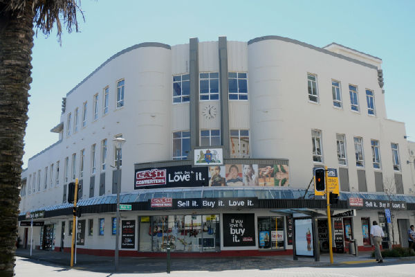 Under threat: NZ Post have moved their staff out of the heritage central Post Office building in High St, Lower Hutt, because of the seismic risk.