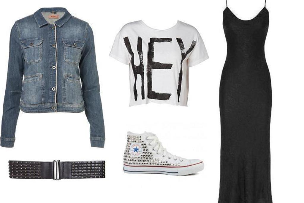 one dress: casual punk