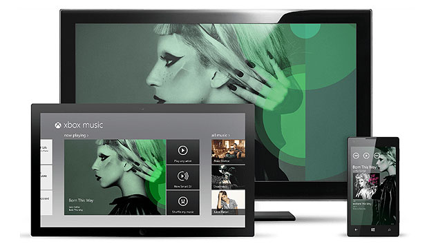ALL IN ONE: Xbox music will be available across multiple devices.