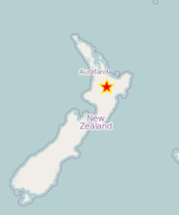 Central North Island quake