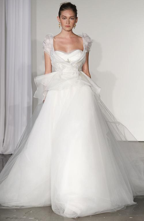 A Marchesa dress straight out of a fairytale.