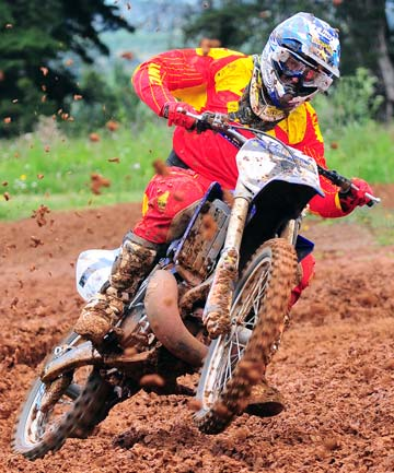 BLISS: Hamilton's Darryll King (Yamaha), looks to rev up the MX1 class this weekend.