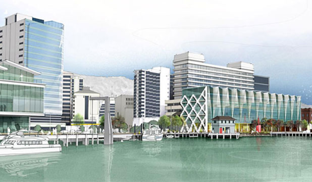 Concept Shots Of The Proposed On Waterloo Quay Near Utoto
