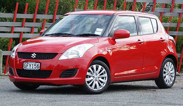 SWIFT: Suzuki's diesel Swift.