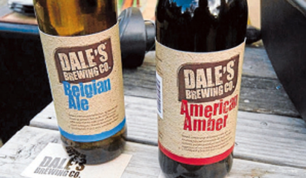NEWCOMERS: The debut beers – American Amber and Belgian Ale.