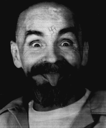 Convicted mass killer Charles Manson