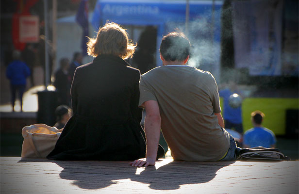 ASSET OR LIABILITY? Smokers die younger, saving on superannuation costs.
