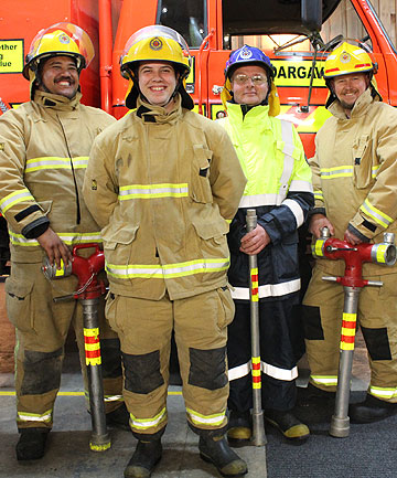 Dargaville firefighters