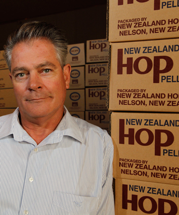 SMALL BEER: Doug Donelan, of NZ Hops, has reassured brewers.