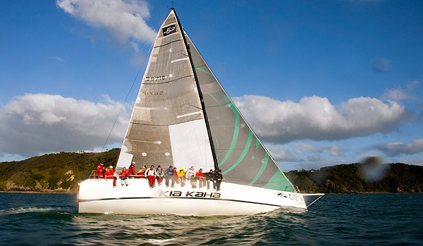 HOMECOMING: Kia Kaha soaks up the sun at the end of a wet and windy Coastal Classic.