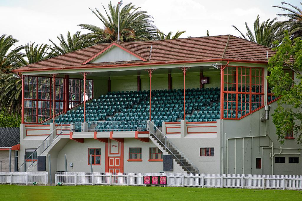 FITZHERBERT FIX: The grandstand at Fitzherbert Park could need work while the ground is being repaired.