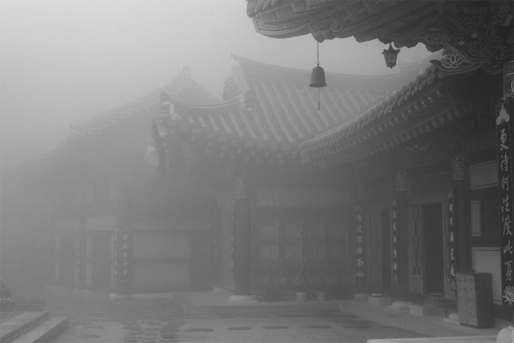 Temple, South Korea.