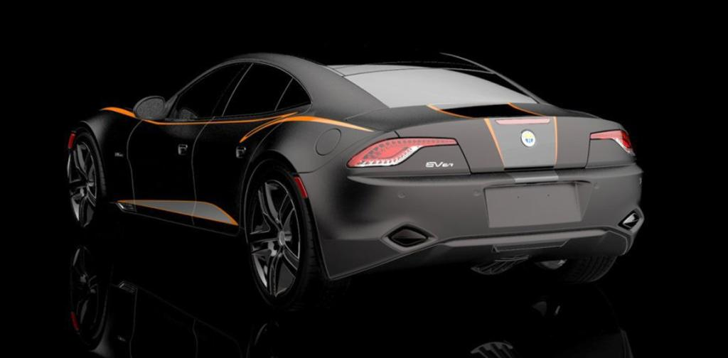 The electric Fisker Kama for the 2012 SEMA show in Las Vegas.