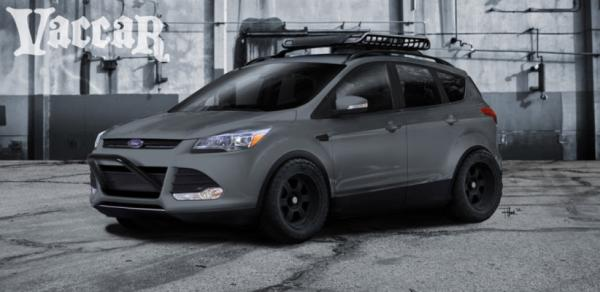 A Ford Escape concept for the 2012 SEMA show in Las Vegas.