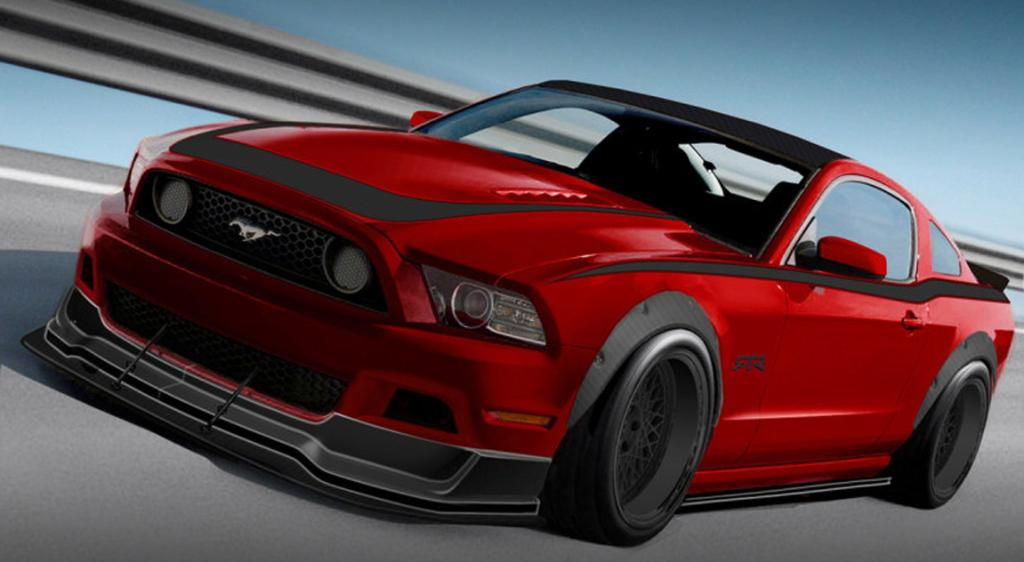 A Ford Mustang concept for the 2012 SEMA show in Las Vegas.