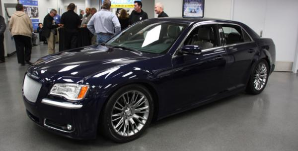 Mopar's Chrysler 300 for the 2012 SEMA show in Las Vegas.