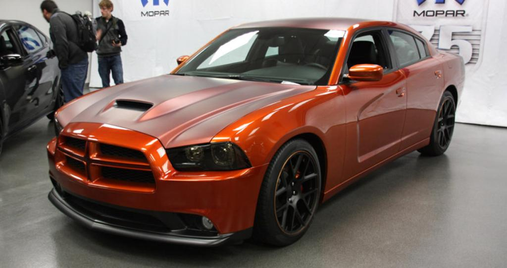 Mopar's Dodge Charger for the 2012 SEMA show in Las Vegas.