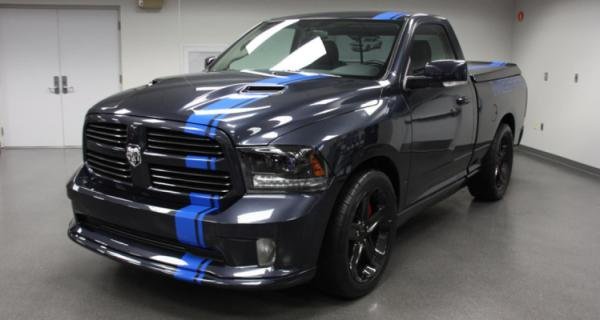 Mopar's Dodge Ram for the 2012 SEMA show in Las Vegas.