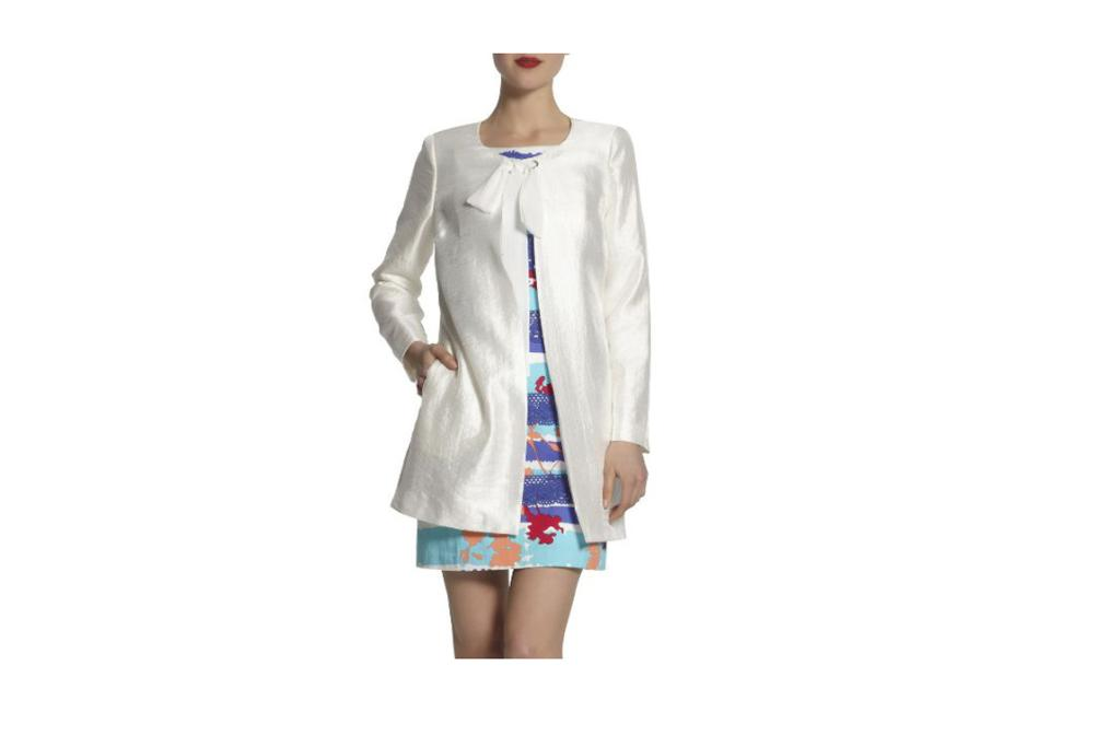 """Duster coat, $179 from Max. """"I'm always struggling to find the perfect cover-up for dressed up evenings out, and I think this may be it!"""""""