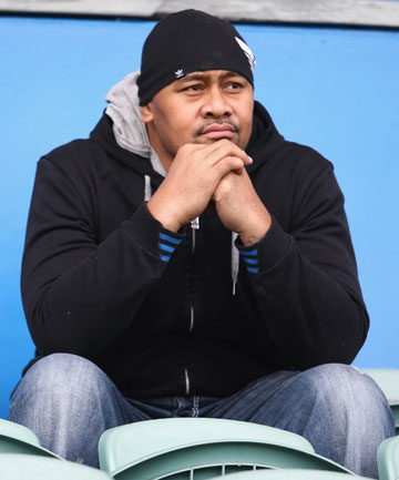 JONAH LOMU: Ex-All Black is angry his name has been tarnished by a man on trial for fraud.