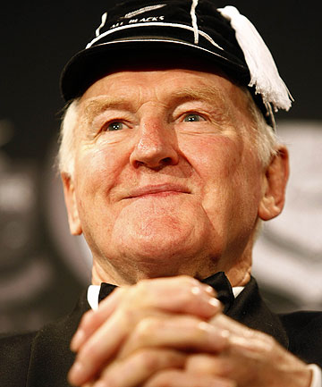 A MAN OF GRACE AND STANDING: Sir Wilson Whineray at the 2008 Rugby Awards in Auckland.