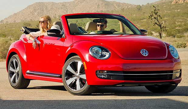 VW NEW BEETLE II CABRIOLET: In Los Angeles at November's auto show.