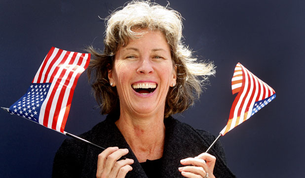 DEMOCRAT: Wellington-based American Stacey Dempsey has voted for President Barack Obama in the federal election.