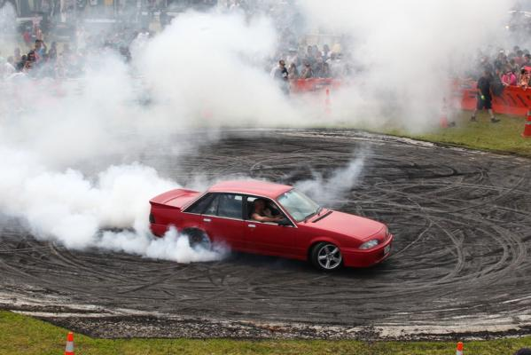 Morrinsville Burnout Comp
