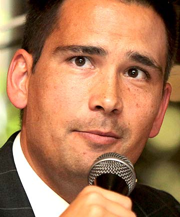 CLIMATE CHANGE MINISTER: Simon Bridges.
