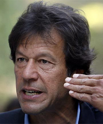 IMRAN KHAN: The war in Afghanistan is
