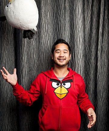 WATCH THE BIRDIE: Patrick Liu, creative director at Angry Birds maker Rovio, is one of the speakers at  animation, digital effects & gaming conference AnimfxNZ in Wellington.