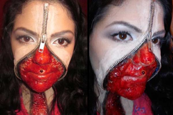 Top 10 phenomenal Halloween makeup tutorials