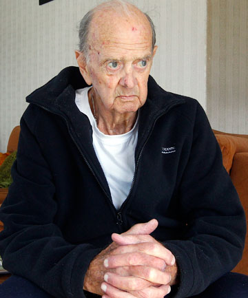 ATTACKED: Jack Morrissey, 82, was afraid he would suffer a head injury during an assault in his Wainuiomata home.