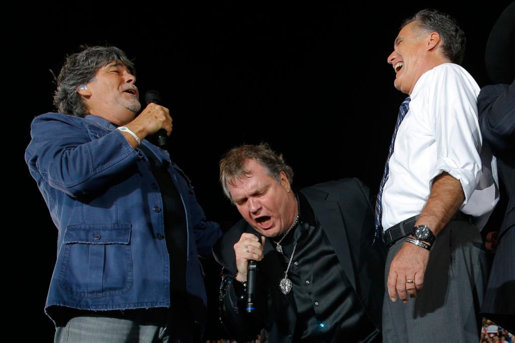 Meat Loaf endorses Mitt
