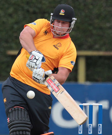 IN TOP FORM: Jesse Ryder is playing well for the Firebirds.
