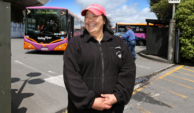 Cazna Waaka was a bus driver for Valley Flyer for 13 years