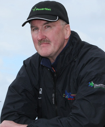 ON THE ROAD AGAIN: Danny Wyatt, a 10-year Tour of Southland sponsor and support crew member.