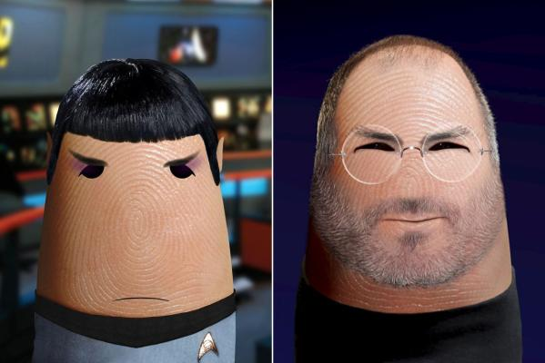 Dito Spock and Dito Steve Jobs