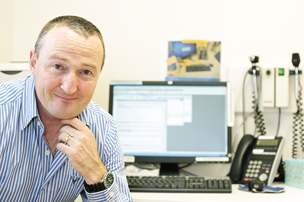 TECH-SMART: NorthCare Pukete Rd GP Dr John Morgan says being able to email patients has greatly improved access.
