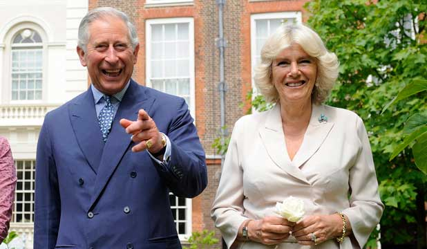 I SEE YOU: Prince Charles and the Duchess of Cornwall will be visiting New Zealand as part of the Queen's Diamond Jubilee celebrations.