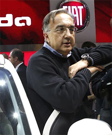 "SERGIO MARCHIONNE: ""This is truly not for the faint-hearted. We have not shied away from a fight."""
