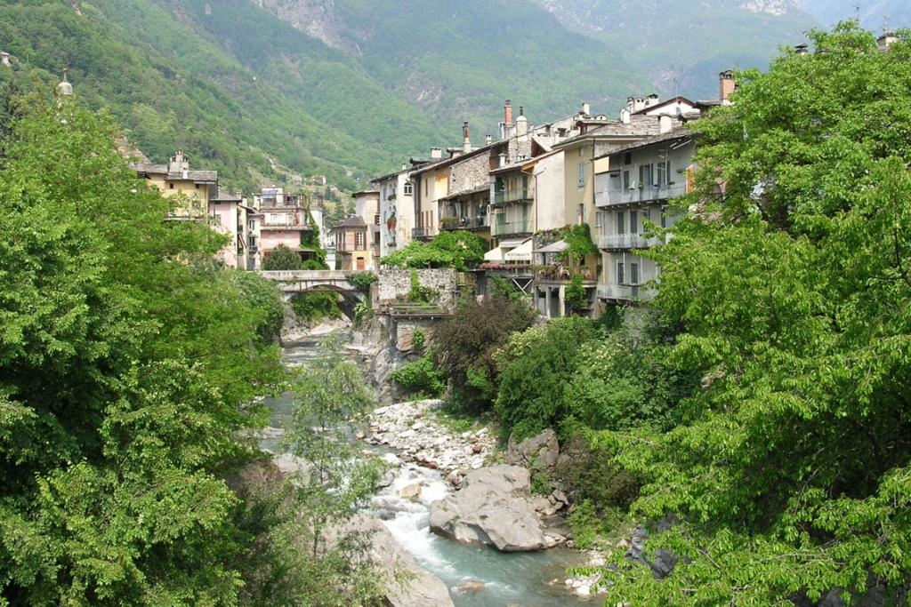 MOUNTAIN JEWEL: Chiavenna, in northern Italy.