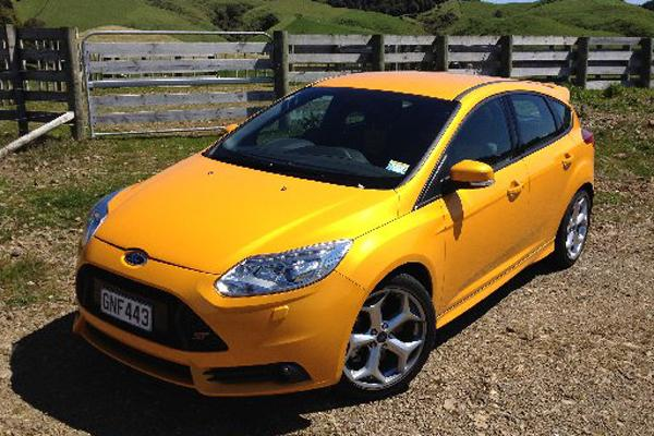 The Ford Focus ST.