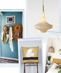 Bring the beach style into your home.