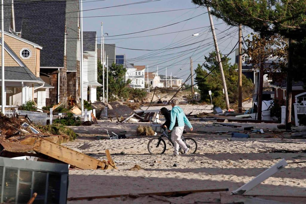 Sandy devastation